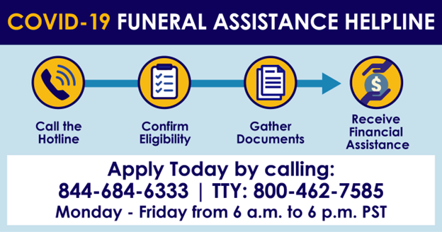 Covid Funeral Assistance image